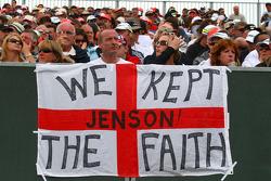 Fan poster de Jenson Button, Brawn GP