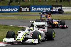 Rubens Barrichello, Brawn GP devance Mark Webber, Red Bull Racing