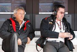 Jean-Paul Driot, Team Principal de Dams avec le directeur technique de Dams