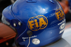 Le casque de Marco Codello, GP2
