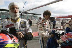 Romain Grosjean et Vitaly Petrov