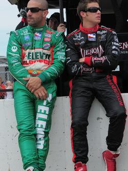 Tony Kanaan, Andretti Green Racing and Marco Andretti