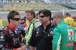 Marco Andretti, Michael Andretti, et Tony Kanaan