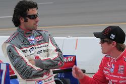 Dario Franchitti, Target Chip Ganassi Racing and Scott Dixon, Target Chip Ganassi Racing