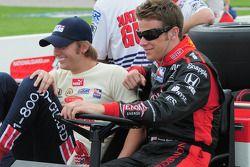 Dan Wheldon, Panther Racing parle avec Marco Andretti, Andretti Green Racing