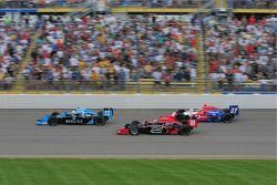 Tomas Scheckter, Dreyer & Reinbold Racing, Justin Wilson, Dale Coyne Racing, et Hideki Mutoh, Andret