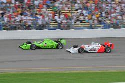 Dario Franchitti, Target Chip Ganassi Racing court avec Ryan Briscoe, Team Penske