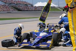 Mike Conway, Dreyer & Reinbold Racing font un pit stop