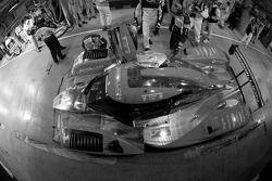 Pit stop for #13 Speedy Racing Team Sebah Lola Aston Martin: Andrea Belicchi, Nicolas Prost, Neel Ja