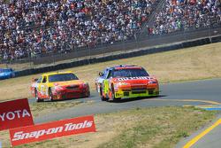 Jeff Gordon, Hendrick Motorsports Chevrolet, Kevin Harvick, Richard Childress Racing Chevrolet