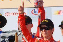 Victory lane: race winner Kasey Kahne, Richard Petty Motorsports Dodge celebrates