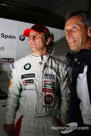 Alex Zanardi, BMW Team Italy-Spain and Roberto Ravaglia, Team Manager, BMW Team Italy-Spain / ROAL M