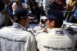 BMW drivers autograph session for the Fans