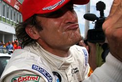 Alex Zanardi, BMW Team Italy-Spain, BMW 320si ganador de la carrera 1