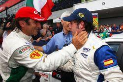 Felix Porteiro, Scuderia Proteam Motorsport felicita a Alex Zanardi, Equipo BMW Italy-Spain