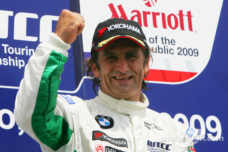 Ganador Alex Zanardi, BMW Team Italy-Spain