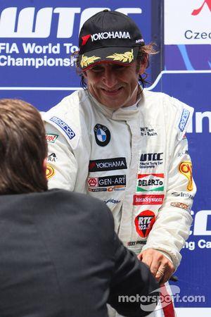 Ganador Alex Zanardi, BMW Team Italy-Spain