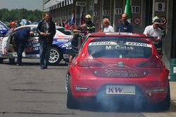 Marin Colak, Colak Racing Team Ingra, Seat Leon 2.0 TFSI avec des problèmes