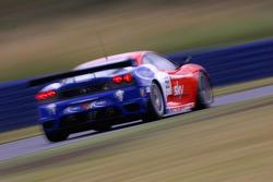 La Ferrari 430 GT2 N°56 (Andrew Kirkaldy, Rob Bell)