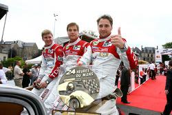 Christijan Albers, Christian Bakkerud en Giorgio Mondini