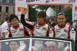 Keisuke Kunimoto, Seiji Ara et Sascha Maassen