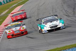 #36 Petronas Tom's SC430: Juichi Wakisaka, Andre Lotterer, #111 Arktech Motorsports Porsche 911 GT3 RSR: Daisuke Ikeda, Tohjiro Azuma