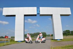Mika Kallio, Pramac Racing, and Niccolo Canepa, Pramac Racing visit TT Assen track and museum