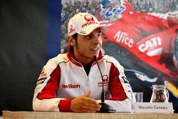 Niccolo Canepa, Pramac Racing visita museo y pista de TT Assen