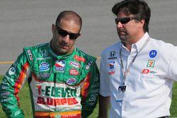 Tony Kanaan, Andretti Green Racing et Michael Andretti