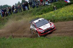 Conrad Rautenbach et Daniel Barritt, Citroën Junior Team Citroën C4 WRC