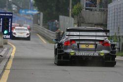 Christian Bakkerud, Futurecom-TME, Audi A4 DTM quitte la ligne des stands