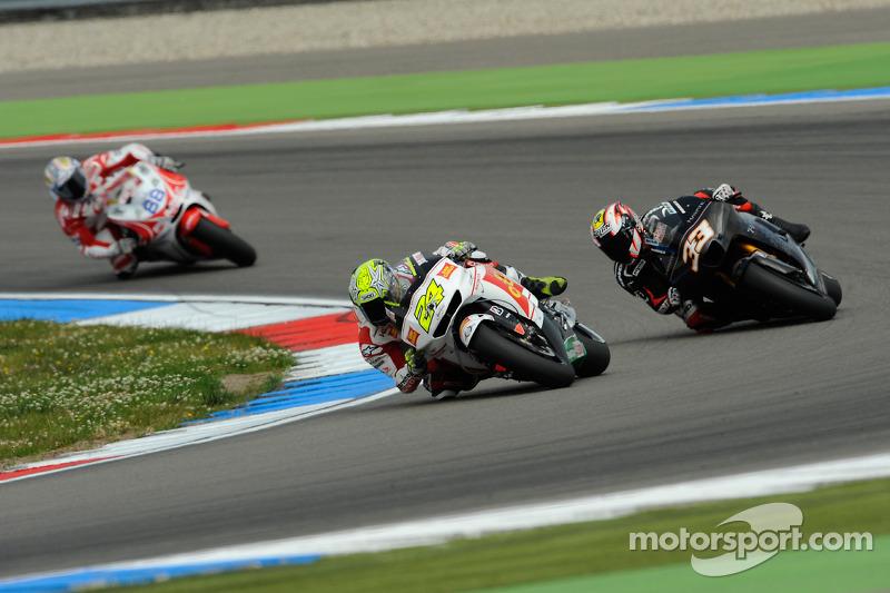 Тони Элиас, San Carlo Honda Gresini и Марко Меландри, Hayate Racing Team