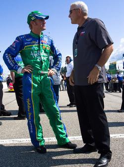 Clint Bowyer et Dale Jarrett
