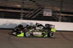 Ernesto Viso, HVM Racing dépasse Marco Andretti, Andretti Green Racing