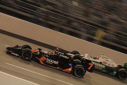 Danica Patrick, Andretti Green Racing dépasse Tony Kanaan, Andretti Green Racing