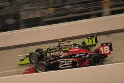 Justin Wilson, Dale Coyne Racing court avec Ernesto Viso, HVM Racing