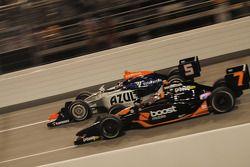 Danica Patrick, Andretti Green Racing dépasse Mario Moraes, KV Racing Technology