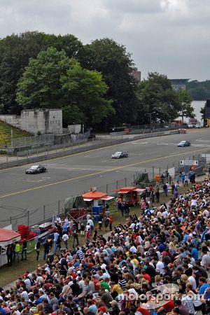 Timo Scheider, Audi Sport Team Abt Sportsline Audi A4 DTM, Bruno Spengler, Team HWA AG, AMG Mercedes