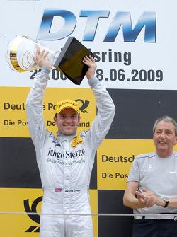 Podium: race winner Jamie Green, Persson Motorsport, AMG Mercedes C-Klasse