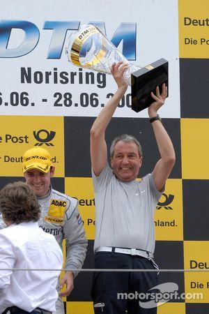 Podium: Ingmar Persson, Team principal de Persson Motorsport, Jamie Green, Persson Motorsport, AMG M