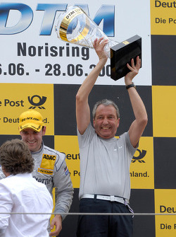 Podium: Ingmar Persson, Team principal Persson Motorsport, Jamie Green, Persson Motorsport, AMG Merc
