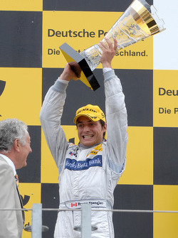 Podium: second place Bruno Spengler, Team HWA AG, AMG Mercedes C-Klasse
