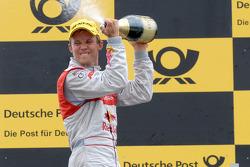 Podium: third place Mattias Ekström, Audi Sport Team Abt Audi A4 DTM