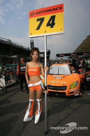 Une reine de la course GT