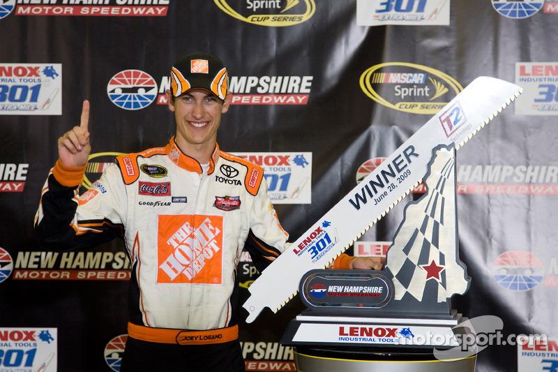 NASCAR: Joey Logano, 19 anos e 34 dias – New Hampshire, 2009