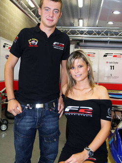 German Sanchez with F2 grid girls