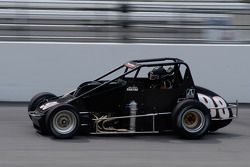Bobby Santos III, on track with his new car