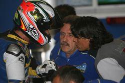 Jenson Button et Rubens Barrichello
