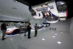 1982 Porsche 956 könnte an der Decke fahren bei einer Geschwindigkeit von 321.4 km/h