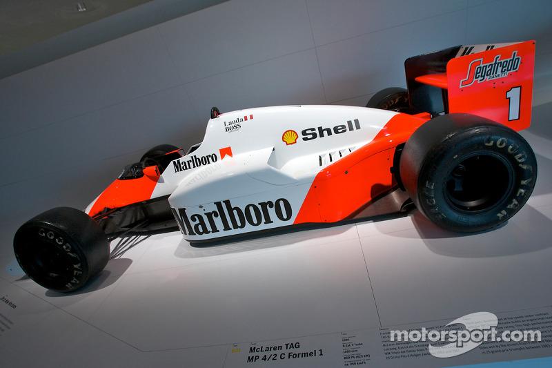 1986 McLaren TAG MP 4/2 C Formula 1